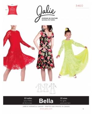 jalie 3460 Bella Kleid