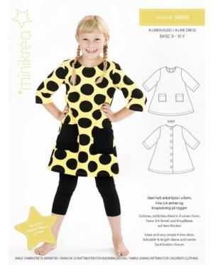 Minikrea 50010 A Linien Kleid