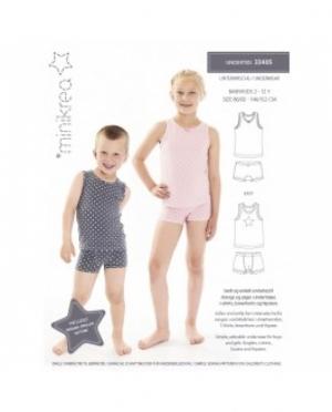 Minikrea 33405 Unterwäsche für Mädchen..