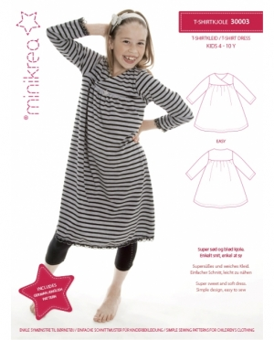 Minikrea 30003 T-Shirt Kleid