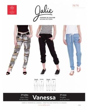 jalie 3676 Vanessa leichte Sommerhose