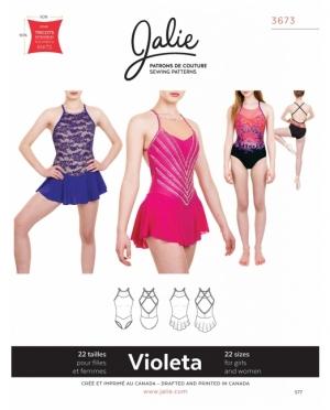 jalie 3673 Violeta Eiskunstlauf und Tu..