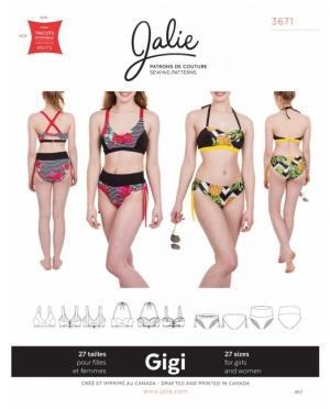 jalie 3671 Gigi Bikini