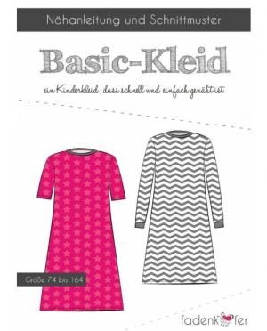 Fadenkäfer Basic Kleid Kinder