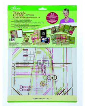 Taschen Schablone Clover 9577 Schutzhülle Tablet E-Reader