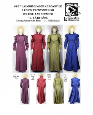 LMM Ladies front opening Pelisse and S..