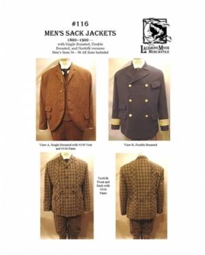 LMM Mens Sack Jackets 1860-1900  116