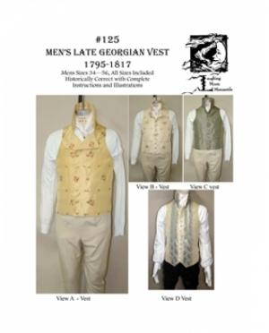 LMM Mens late Georgian Vest  125