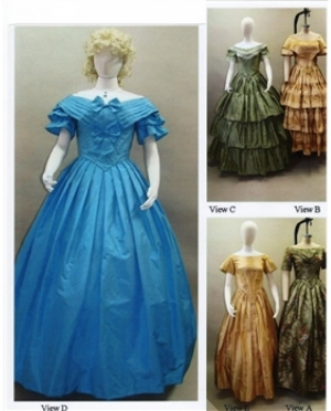 LMM Ladies Ball Gown 1840 - 1863  117