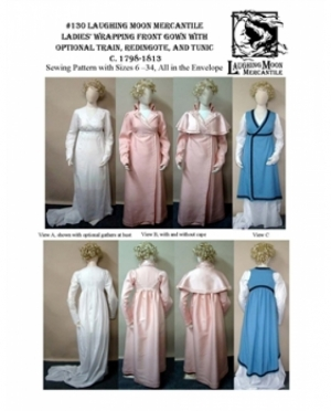 LMM Ladies Wrapping front Gown Train, ..