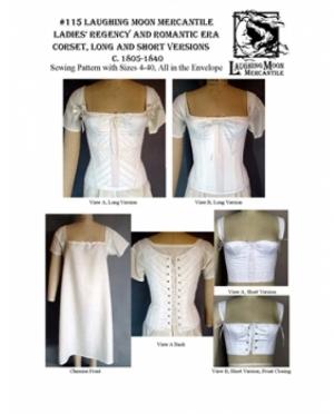 LMM Ladies Regency and Romantic Corset..