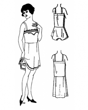 PastPatterns Ladies 1920 Undergarment ..