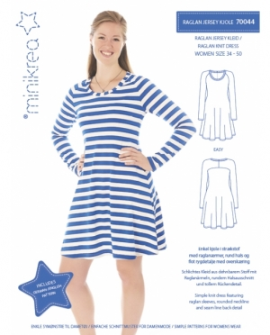 Minikrea 70044 Raglan Jersey Kleid