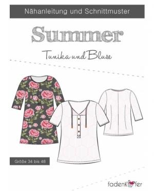 Fadenkäfer Summer Bluse Tunika Damen