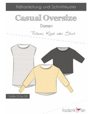 Fädenkäfer Shirt Pullover Casual Overs..