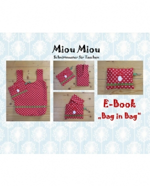 Miou Miou e-book bag in bag
