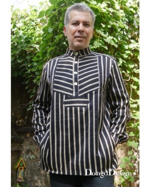 DongoDesign Herrenhemd Fischers Fritze