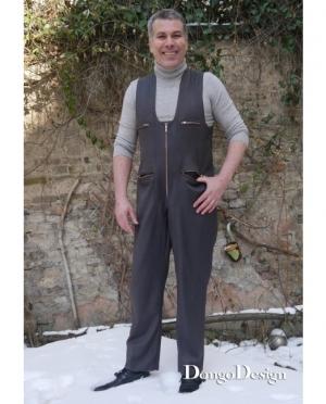DongoDesign Herren Overall Jumpsuit Ri..