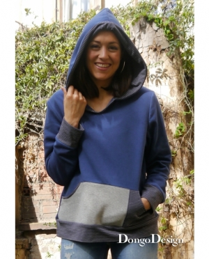 DongoDesign Hoodie Donna
