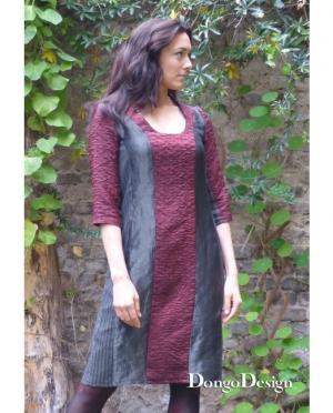 DongoDesign Kleid Stripes