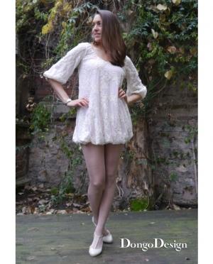 DongoDesign Kleid Sommerbrise mit Ärmel