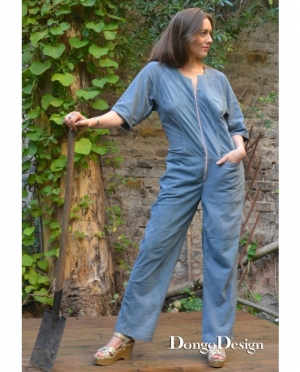 DongoDesign Jumpsuit Overall Emma Peel