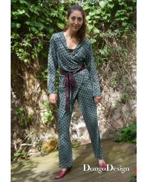 DongoDesign Jumpsuit Overall Dana