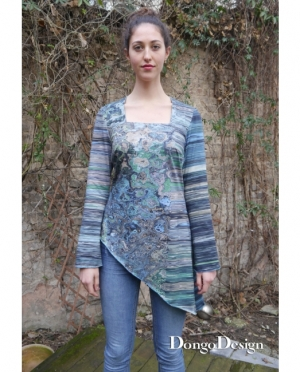 DongoDesign Shirt Meerjungfrau