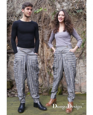 DongoDesign Baggy Pants Damen und Herren