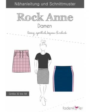 Fädenkäfer Rock Anne Damen