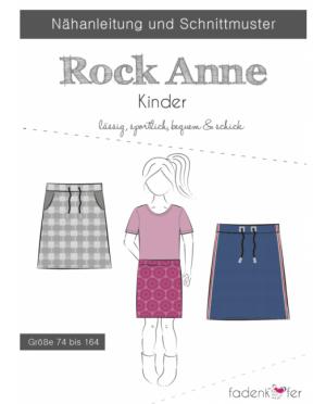 Fädenkäfer Rock Anne Kinder