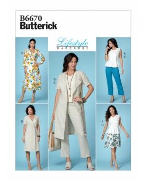 Butterick 6670
