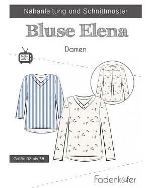 Fadenkäfer Bluse Elena Damen
