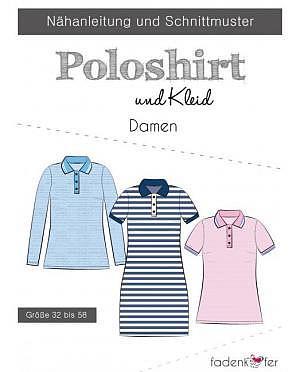 Fädenkäfer Poloshirt und Kleid Damen