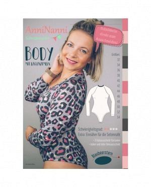 AnniNanni Body mit Raglanärmeln Damen