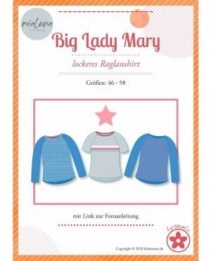 Farbenmix 0434 Raglanshirt Big Lady Mary