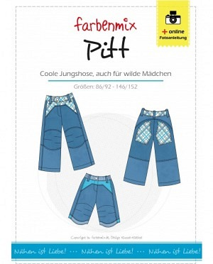 Farbenmix 0162 Hose Pitt