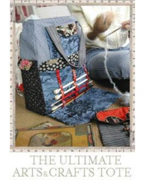 ARTS & CRAFTS TOTE and ROLL-UP NEEDLE/..