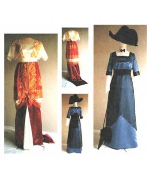 LMM 1909 - 1913 Day & Evening Dress 104
