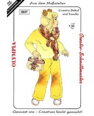 Olympia Creativ-Schal und Tasche