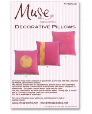 Muse Decorative Pillows