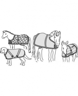 Suitability Horse Blanket or Sheet and..