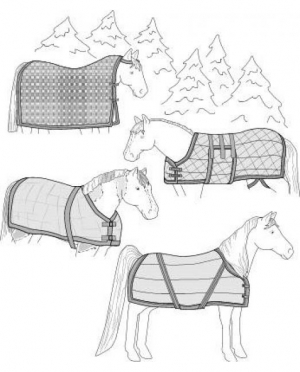 Suitability Horse Blanket, Sheet and C..
