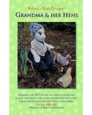 RRD - Grandma&her hens