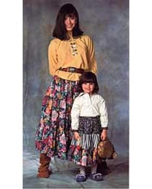 Schnittmuster Navajo Blouse & Skirt