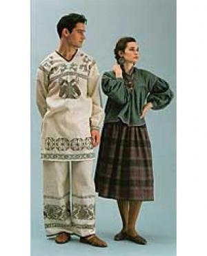 Folkwear Schnittmuster Huichol Wardrobe