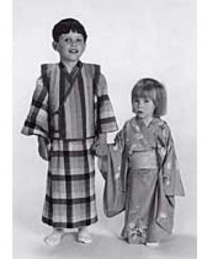 Folkwear Schnittmuster Child's Kimono ..