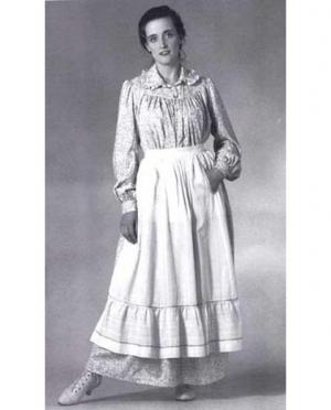 Schittmuster Prairie Dress