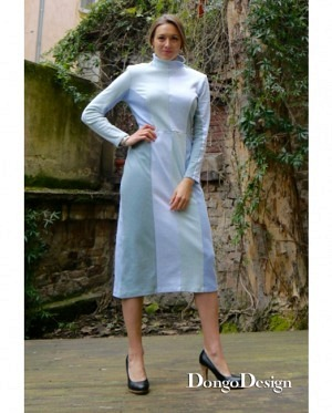 DongoDesign Kleid Jerseystripes