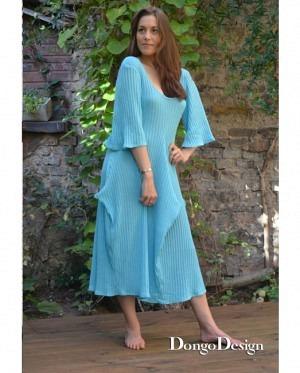 DongoDesign Jersey Kleid Desirée mit Ärmel